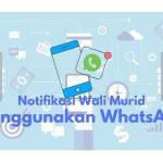 notifikasi SPP dengan whatsapp